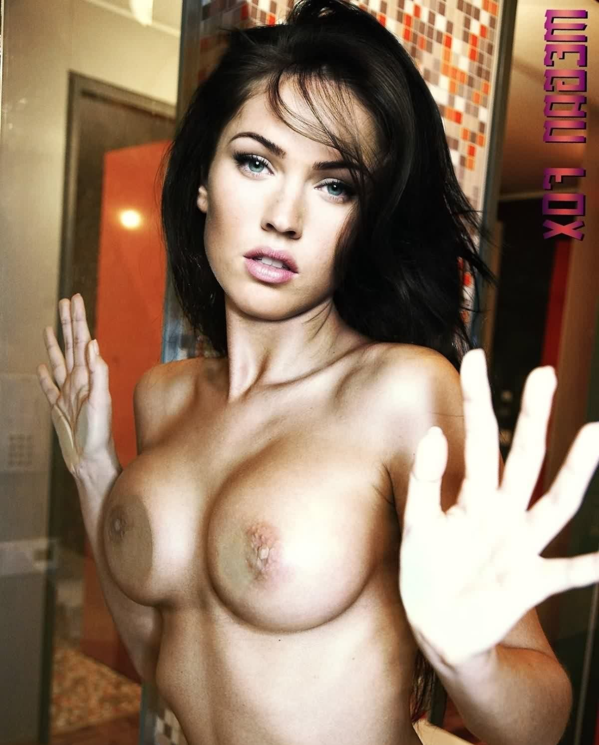 Megan Fox Sexy Boobs - 56 Collection Megan Fox Hot Nude xxx Pics