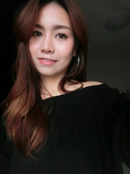 HfutNrp tqk - Sexy asian teen girl selfie nude black dress