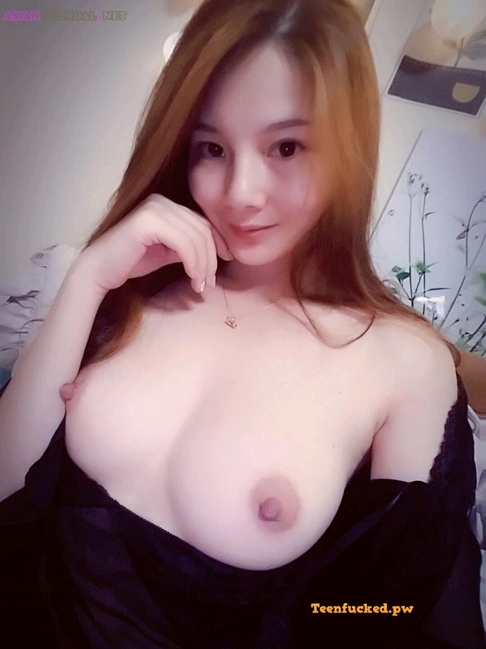 koVIMXLJE9U wm - Cute asian girl selfie big tits very hot 2020